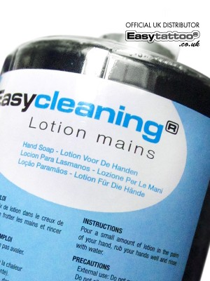Easycleaning tattoo hand gel 1L