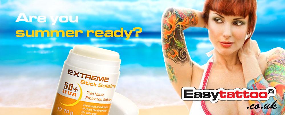 Easytattoo tattoo EXTREME SUN Block stick +50-index