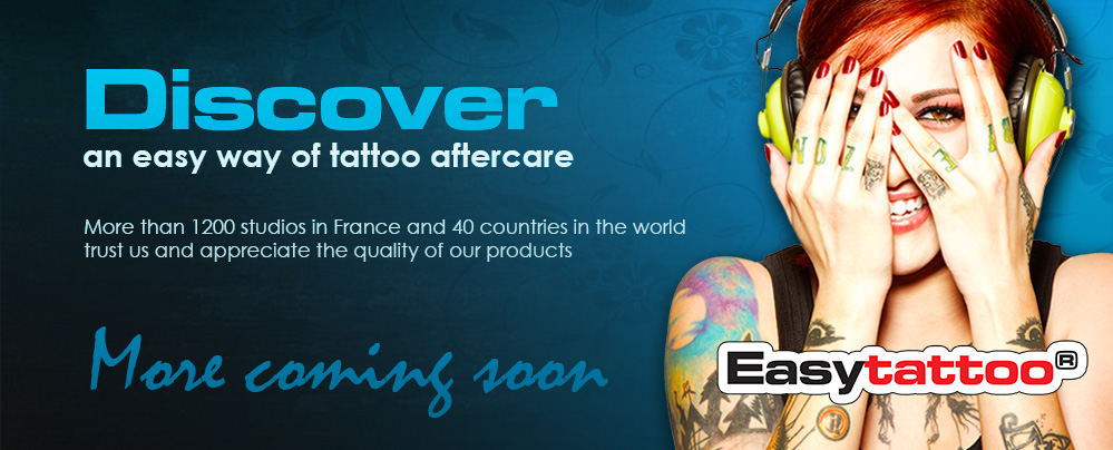 Easytattoo UK shop - Discover an easy way of tattoo aftercare