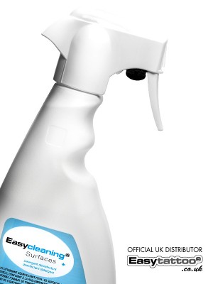 easycleaning surfaces spray easytattoo uk