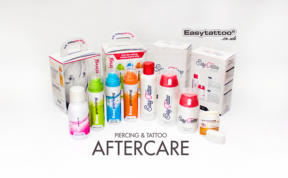 easytattoo uk piercing and tattoo aftercare set sml