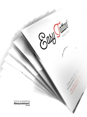 Easytattoo PROTECT tattoo protective sachets - wholesale uk