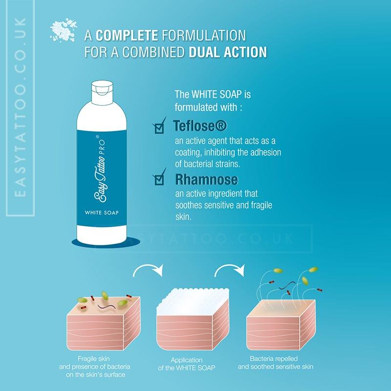 EasytattooPRO® WHITE SOAP 500ml